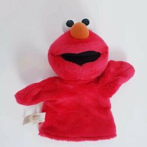 Sesame Street Elmo Hand Puppet Soft Plush Toy Kids