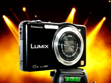 PANASONIC SZ7 Black-10X Optical Zoom-Large Screen-Thin-Great Hunting/Fishing Cam