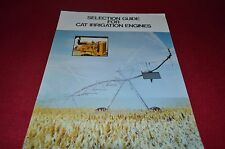 Caterpillar Irrigation Engines Dealers Brochure YABE11