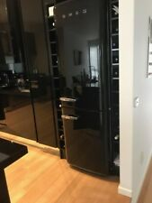Smeg 326 Litre Refrigerator &Freezer Black NEW Right Hand Door FAB32RWHNA1