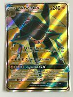 Vikavolt GX FULL ART ULTRA RARE 134/145 SM Guardians Rising Pokemon Card HOLO NM