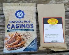 25 POUND FRESH LEGGS BRATWURST SAUSAGE KIT w/ HOG CASINGS