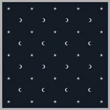 """Navy Moon & Stars Velvet Altar Cloth Large 32"""" Lo Scarabeo Wiccan Pagan Altar"""
