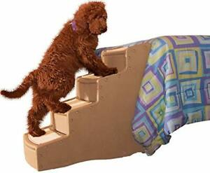 Pet Gear Easy Step IV Pet Stairs 4-Step for Cats/Dogs Portable/Lightweight St...