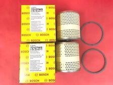 lot of 2 Engine Oil Filter-Workshop Oil Filter OEM Bosch 72127WS