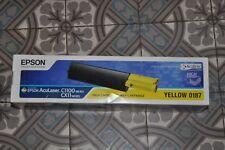 IT134 EPSON AcuLaser YELLOW 0187 Toner Cartridge C1100/CX11