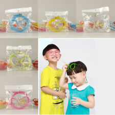 Children Kids Drink Straw Party Crazy Straw Funny Glasses Tube Gift Creative Toy