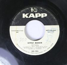 Pop Promo 45 The Hipsies - Gypsy Boogie / Play The Song, Mr. Man On Kapp