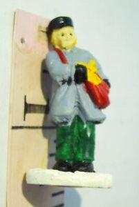 Grandeur Noel Victorian Village Mailman Postman 1995 Christmas Vintage Figurine