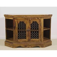 Indian Jali Corner TV Unit Solid Sheesham Rosewood by Mercers Furniture®