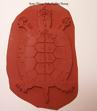 Turtle Unmounted Um Rubber Art Stamp for Paper Crafts, Stamping & Card making