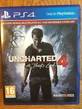 Uncharted 4 A Thief's End Day 1 Edition (non scellé) - PS4 UK VERSION NEUF!