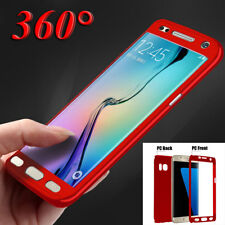 For Samsung Galaxy J7 S8 Plus 360 Case Hard Full Body Shockproof Armor Cover Bag