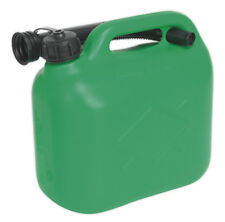 FUEL CAN 5LTR - GREEN FROM SEALEY