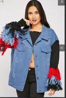 BNWT designer inspired funky festival jacket S/m