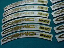 MAVIC COSMIC 1998  REPLACEMENT RIM DECAL SET FOR 2 ALLOY COSMIC RIMS