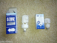42W Ozone Lite Air Purifier Light Bulb Eliminate Odors Smoke Kill Bacteria TIO2