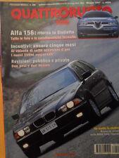 Quattroruote 499 1997 - Alfa 156 Ritorna la Giulietta - Test BMW 528i To   [Q41]
