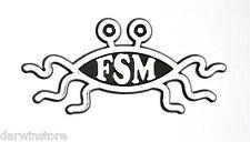 FSM Flying Spaghetti Monster Pastafarian car BADGE