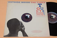THE TUBES LP OUTSIDE INSIDE 1°ST USA AUDIOPHILES TOP NEAR MENTHE NM