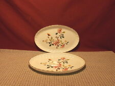 "Royal Kent England Bone China Set of 2 Oval Trays 8 1/2"" x 5 3/8"""