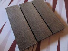 3pcs lot Bog Oak morta wood Woodturning/ (40*12*135mm) 1000-5800 Years Old