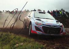Dani Sordo SIGNED Hyundai i20 WRC , Rally Portugal 2014