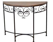 Konsole Tisch Konsolentisch Wandtisch Beistelltisch Schwarz