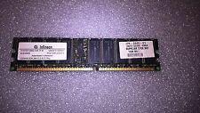 Memoria DDR ECC Infineon HYS72D128521GR-7F-B 1GB PC2100 266MHz CL2.5 2.5V 184