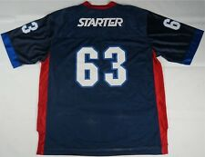 Rare Vintage STARTER Brand Spell Out #63 71 XXL Football Jersey Shirt 90s SZ L