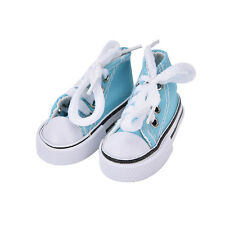 7.5cm Canvas Shoes BJD Doll Toy Mini Doll Shoes for 16 Inch Sharon doll Boots HF