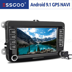 """7"""" Car Stereo GPS Navi Android RDS 2DIN +Camera For VW GOLF 5 PASSAT Touran Polo"""