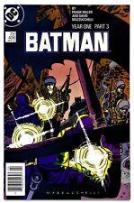 BATMAN #406(4/87)YEAR-1';PT-3(MILLER/MAZZUCCHELLI)NEWSSTAND VARIANT(CGC IT)NM-!!