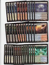 40 Bounce Land Lot - Ravnica Block - NM/SP - 4x of each - Sets - Magic MTG FTG
