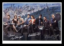 CSI NEW YORK CAST OF 8 AUTOGRAPHED SIGNED & FRAMED PP POSTER PHOTO