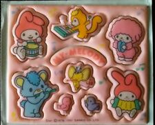 My Melody Vintage 1976 Sanrio Kawaii cute PUFFY Sticker Sheet
