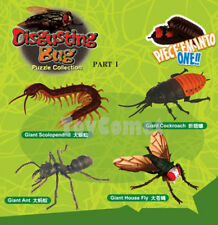 Set of 4 Disgusting Bug Animal 4D 3D Puzzle Realistic Model Kit Educational Toy