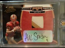 2005 Absolute Alex Smith 3 Color Patch On Card Auto Rc # of 100