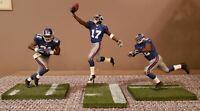 McFarlane NY Giants Figures - Michael Strahan, Tiki Barber, Plaxico Burress