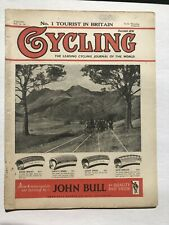 July 1953 Cycling Magazine from England Denmark Biking Tour