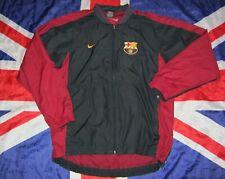 Vintage Barcelona Spain Training Jacket Raincoat Coat 1990's Nike Size S