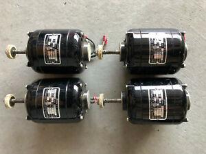 (1) Bodine Electric NCI-12 GEARMOTOR 115V 1/70 HP .44 AMP 1725 RPM