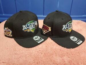 2018 MiLB AAA All Star Game Columbus Ohio 47 Brand Snapback Hats Lot Of 2 NWT