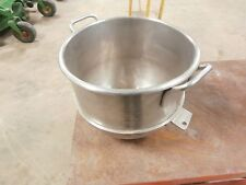 Used  30 QT STAINLESS MIXING BOWL FITS HOBART 30 Quart Mixer A200