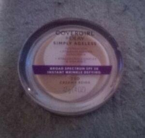 COVERGIRL+Olay Simply Ageless Wrinkle Defying Foundation 0.4oz 250 Creamy Beige