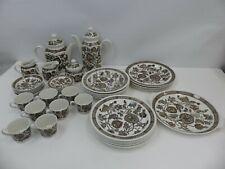 (ref288) Ridgway Ironstone Jacobean Tea Coffee Dinner Set