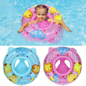 Inflatable Baby Swim Safe Seat Swimming Ring Pool Float for Toddler 6-36month QN