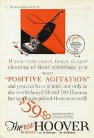 1927 ORIGINAL VINTAGE HOOVER VACUUM CLEANER MAGAZINE AD
