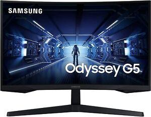 "SAMSUNG Odyssey G5 27"" WQHD 144Hz, Curved, 1ms Gaming Monitor New!!!"