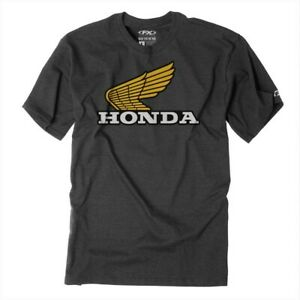 Factory Effex Licensed Honda Classic T-Shirt Black Mens All Sizes